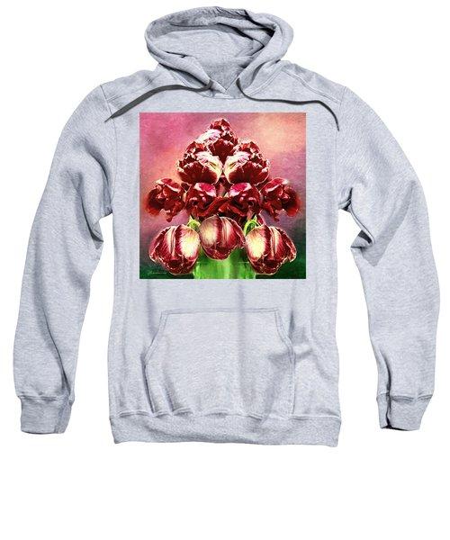 Shabby Tulips Sweatshirt