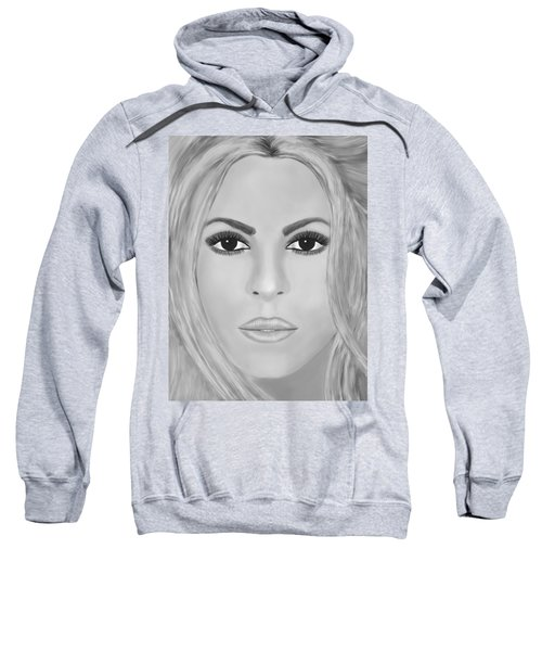 Shakira Black And White Sweatshirt