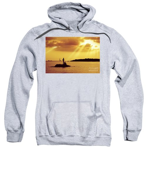 Silhouettes On The Beach Sweatshirt