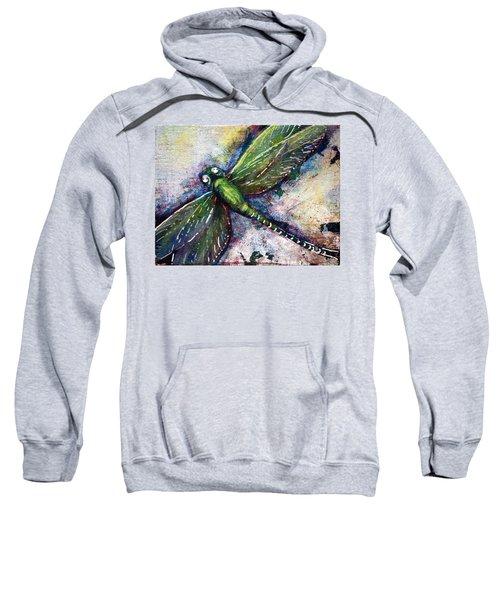 Silver Dragonfly Sweatshirt