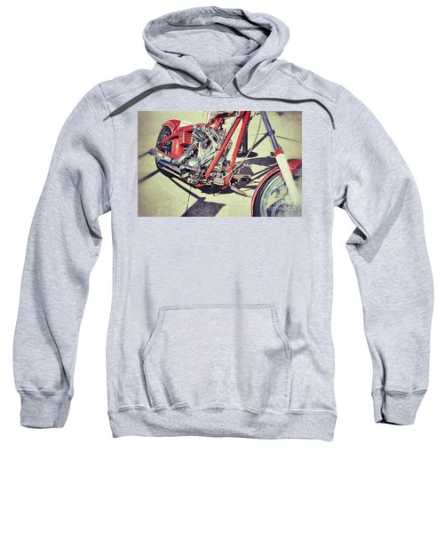 Snap On Sweatshirt