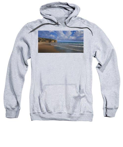 Strands Beach Dana Point Painting Sweatshirt