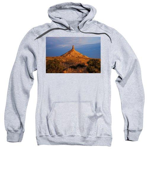 Sunrise At Chimney Rock Sweatshirt