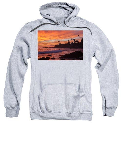 Sunset Off Laguna Beach Sweatshirt