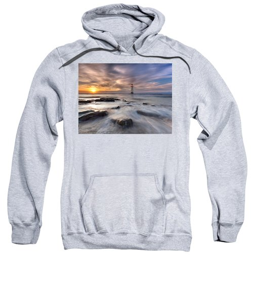 Talacre Lighthouse  Sweatshirt