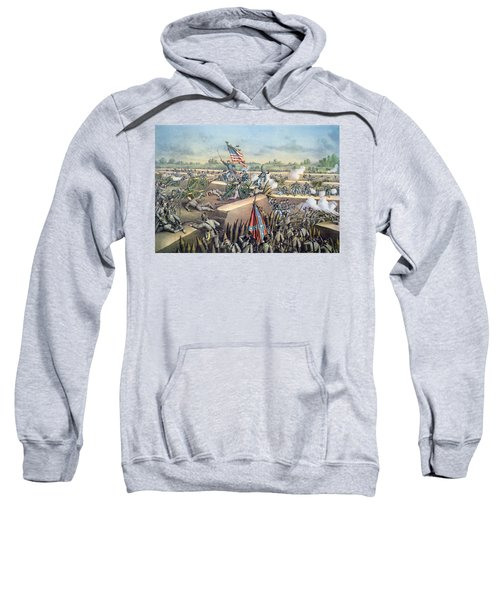 The Fall Of Petersburg To The Union Army 2nd April 1965 Sweatshirt