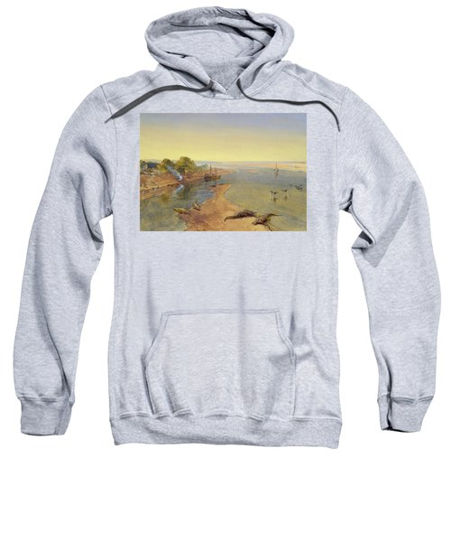 The Ganges Sweatshirt by William Crimea Simpson