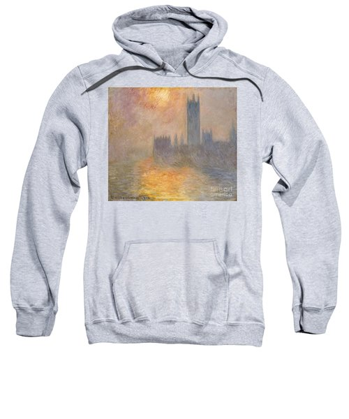 The Houses Of Parliament At Sunset Sweatshirt
