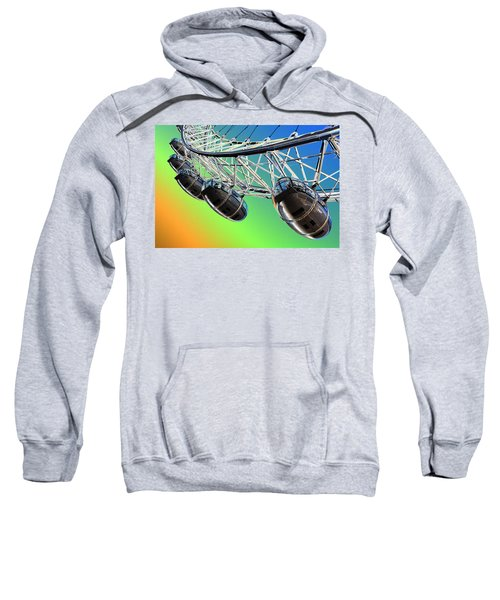 The London Eye Abstract View  Sweatshirt