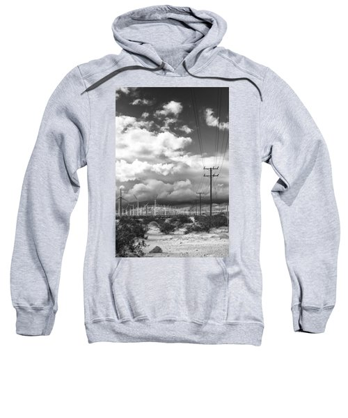 The Way Of The Wind Palm Springs Sweatshirt
