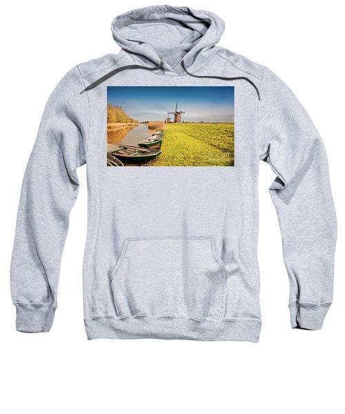 Traditional  Dutch Landscape Sweatshirt