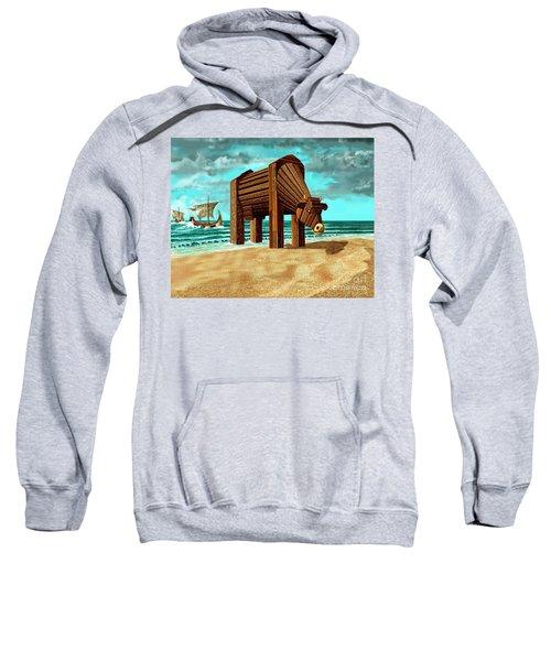 Trojan Cow Sweatshirt