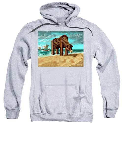 Trojan Cow Sweatshirt