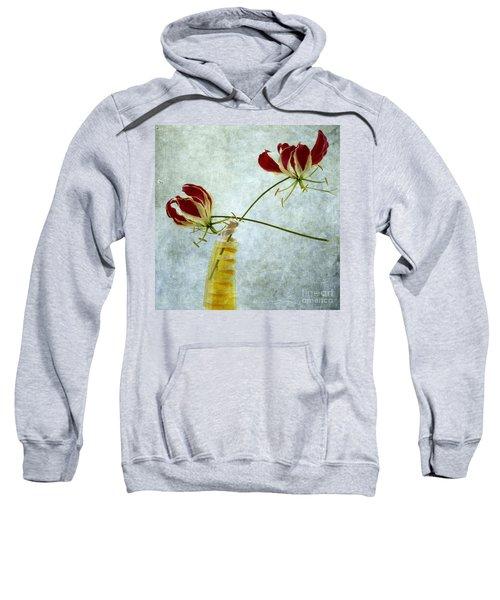 Two Gloriosa Lily. Sweatshirt