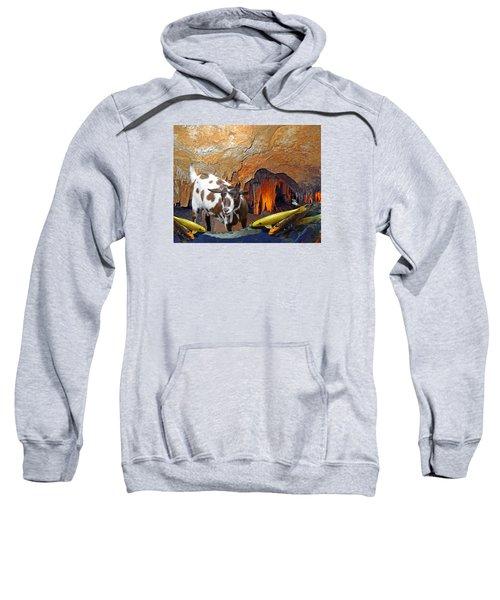Underground Swim Sweatshirt