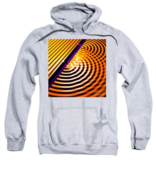 Waves Two Slit 2 Sweatshirt