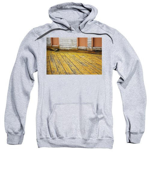 Weathered Monterey Building Sweatshirt