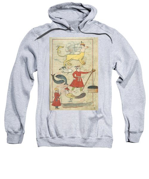 Zodiacal Constellations, 17th Century Sweatshirt