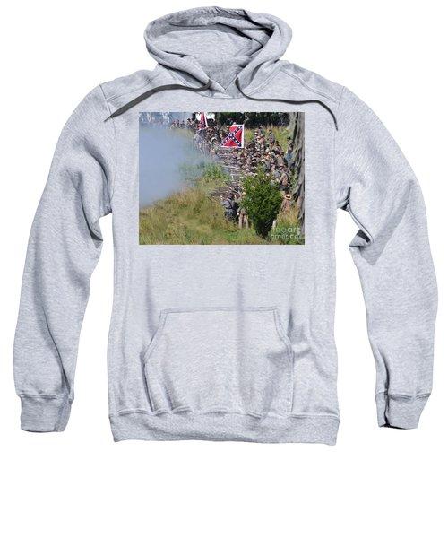 Gettysburg Confederate Infantry 8769c Sweatshirt
