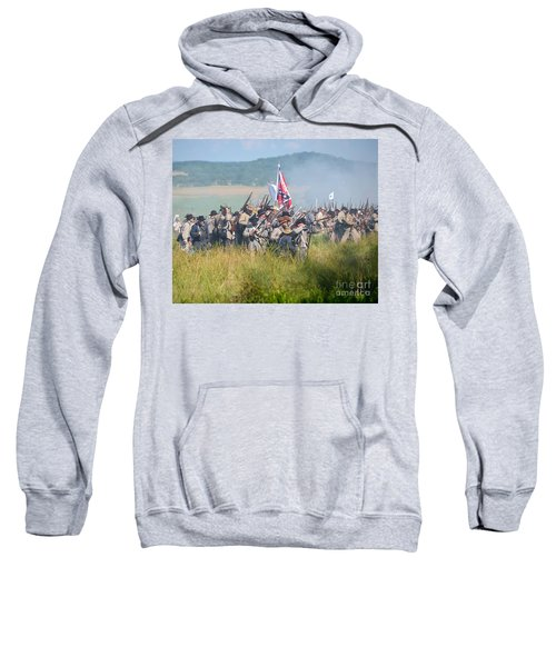 Gettysburg Confederate Infantry 9214c Sweatshirt