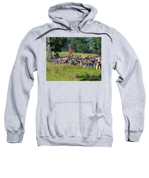 Gettysburg Confederate Infantry 9270c Sweatshirt