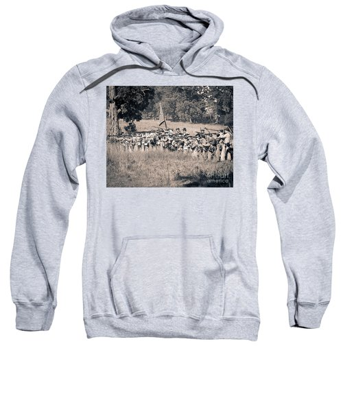 Gettysburg Confederate Infantry 9270s Sweatshirt
