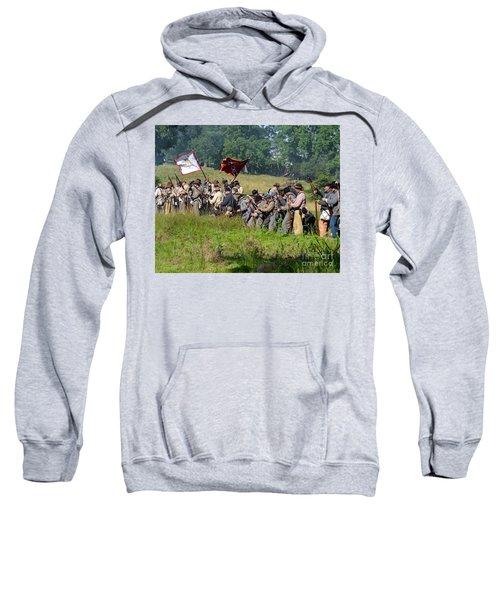 Gettysburg Confederate Infantry 9281c Sweatshirt