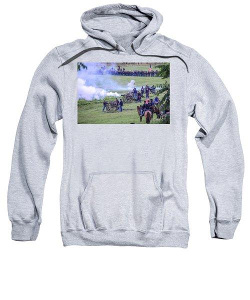 Gettysburg Union Artillery And Infantry 7439c Sweatshirt