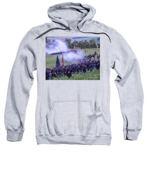 Gettysburg Union Artillery And Infantry 7496c Sweatshirt