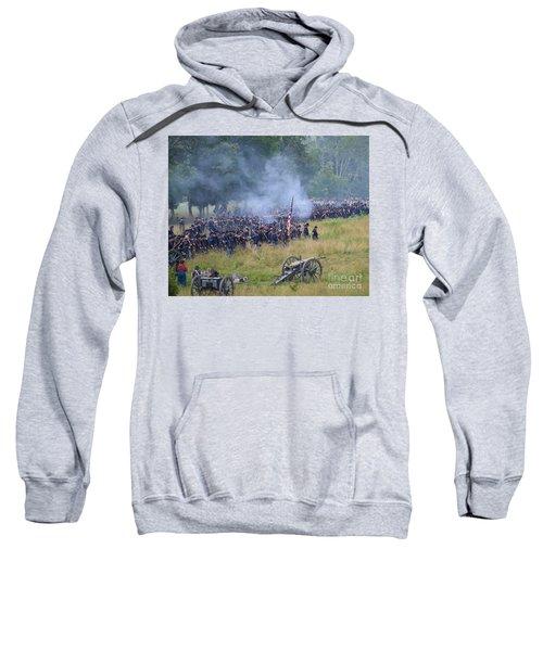 Gettysburg Union Artillery And Infantry 8456c Sweatshirt