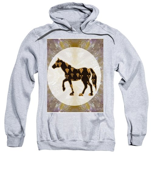 Horse Prancing Abstract Graphic Filled Cartoon Humor Faces Download Option For Personal Commercial  Sweatshirt