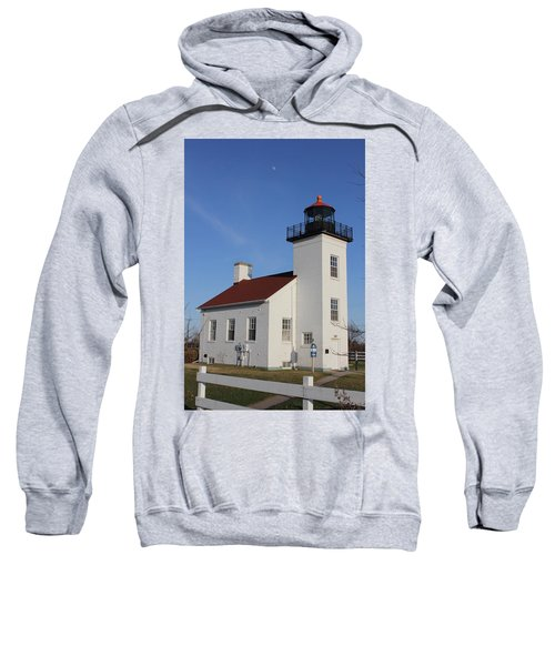 Sand Point Lighthouse Escanaba Sweatshirt