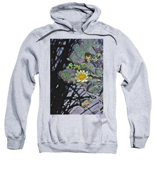 September White Water Lily Sweatshirt