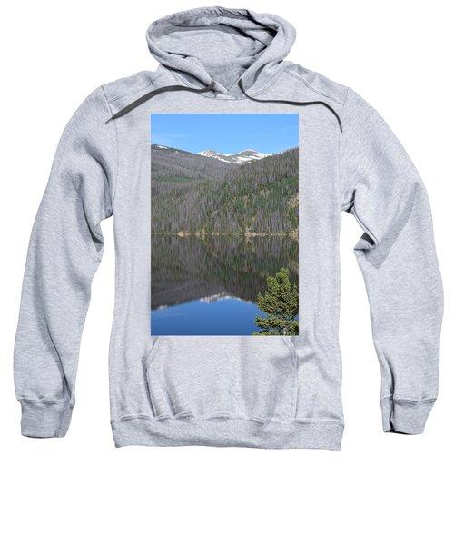 Chambers Lake Reflection Hwy 14 Co Sweatshirt