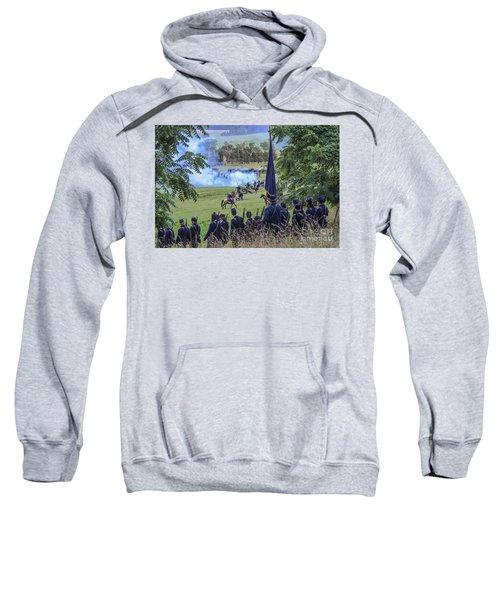 Gettysburg Union Artillery And Infantry 7457c Sweatshirt