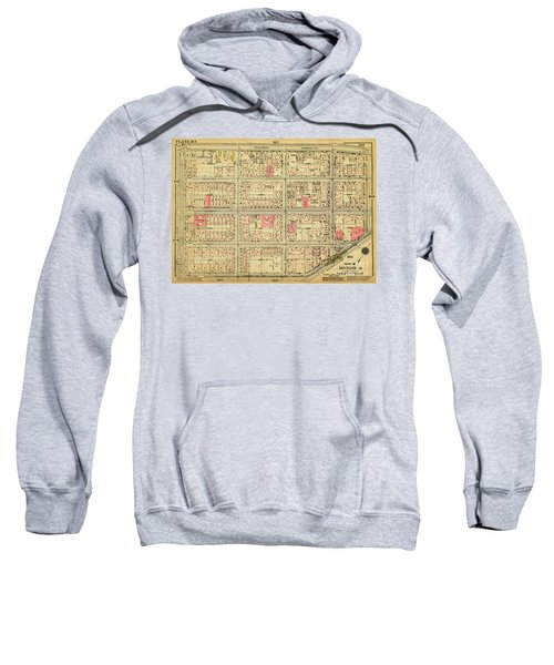 1927 Inwood Map  Sweatshirt