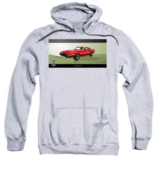 1969 Shelby V8 Gt350  Sweatshirt