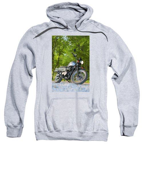 2013 Triumph Scrambler Sweatshirt