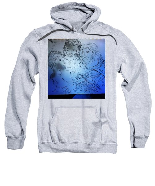 Adam Andeve The Creation Story Sweatshirt