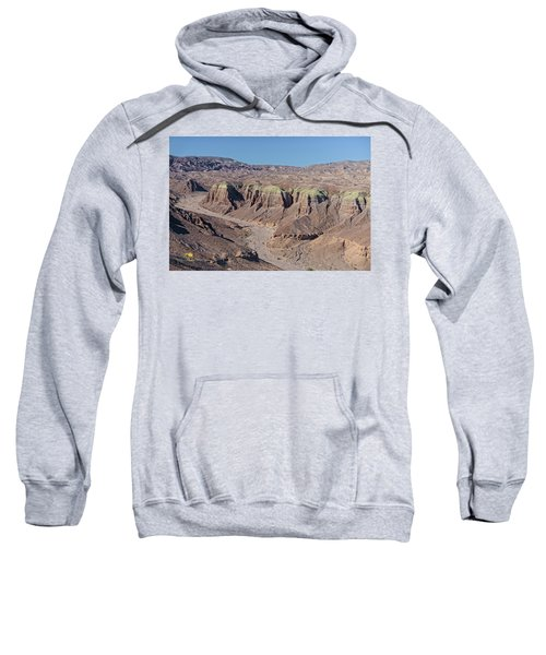 Sweatshirt featuring the photograph Afton Canyon by Jim Thompson
