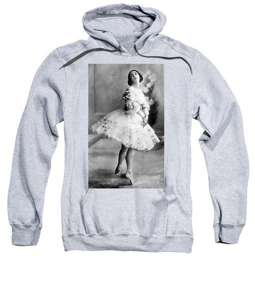 Anna Pavlova, Russian Prima Ballerina Sweatshirt