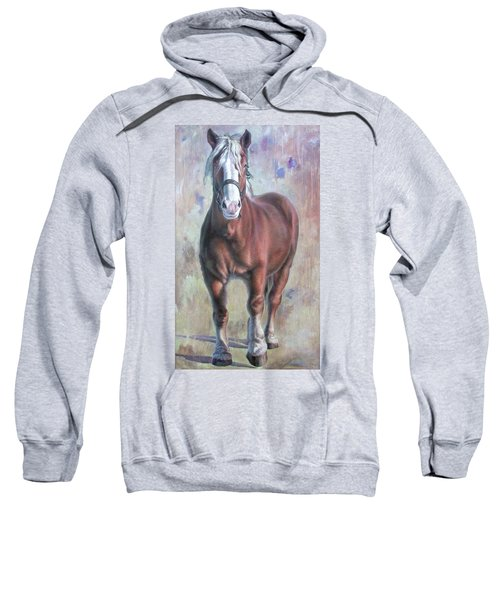 Arthur The Belgian Horse Sweatshirt