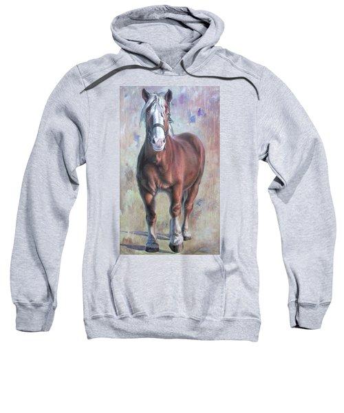 Arthur The Belgian Horse Sweatshirt
