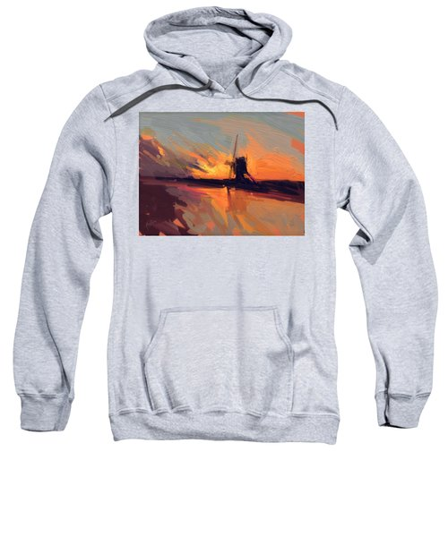 Autumn Indian Summer Windmill Holland Sweatshirt