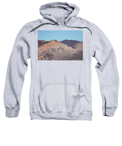 Sweatshirt featuring the photograph Avawatz Mountain by Jim Thompson