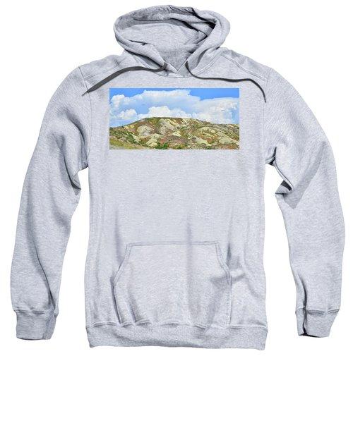Badlands In Wyoming Sweatshirt
