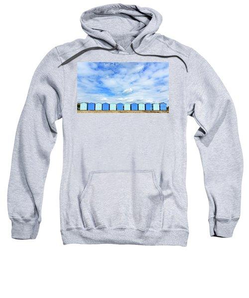 Beach Huts Sweatshirt