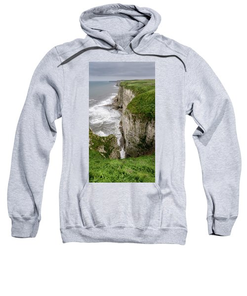 Bempton Cliffs Sweatshirt by Nigel Wooding