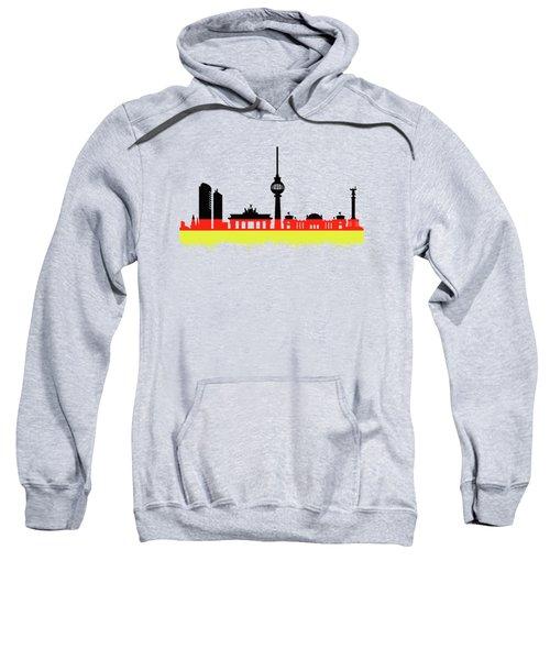 Berlin Skyline Sweatshirt by Solomon Barroa