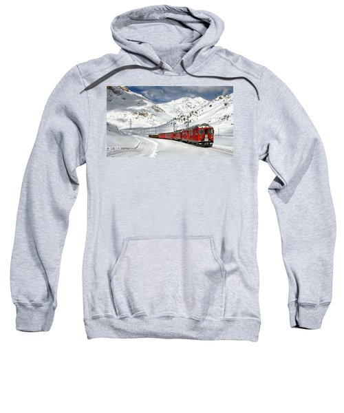 Bernina Winter Express Sweatshirt